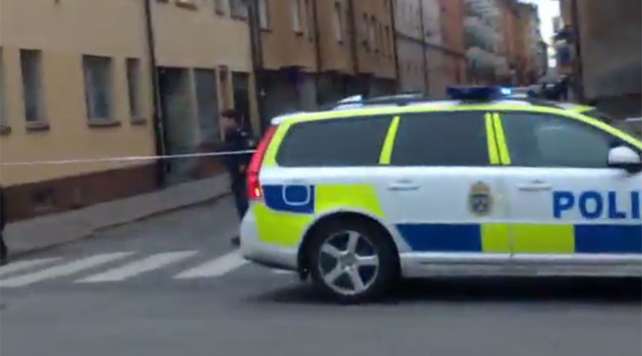 Blast rocks central Stockholm, police suspect gas leak