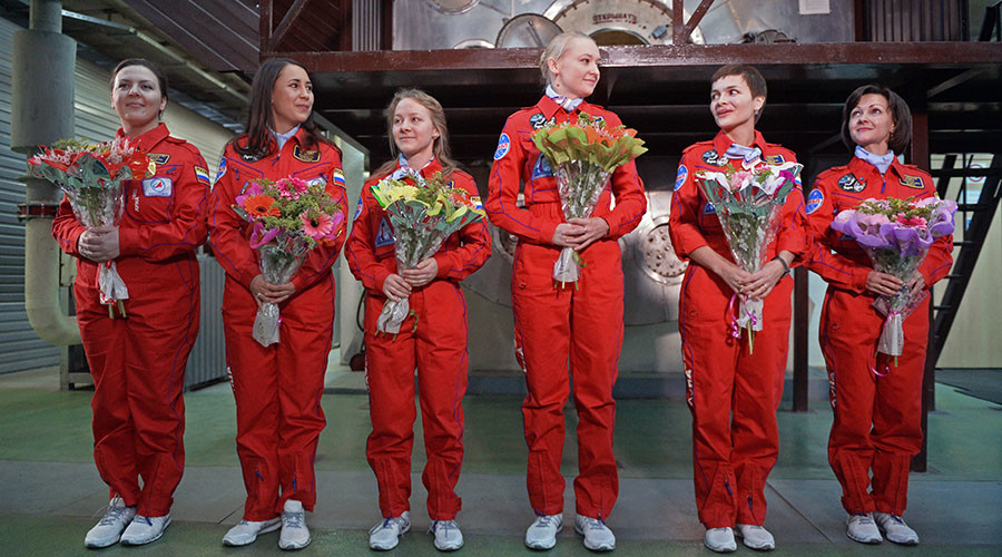 Lunar test: All-female Russian crew complete 8-day Moon flight simulation