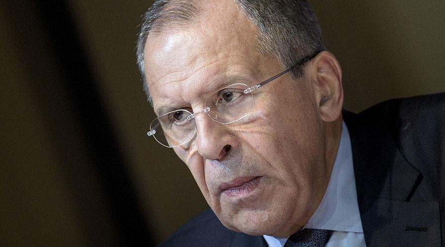 Russian Foreign Minister Sergei Lavrov. © Brendan Smialowski