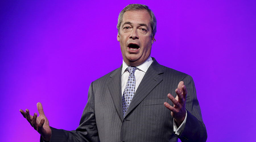 'Corbyn wants to scrap immigration limits' – UKIP's Nigel Farage