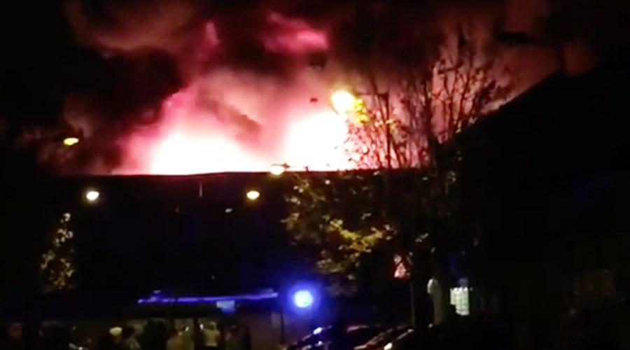 'Remember, remember!' Huge fire in Tottenham amid Bonfire Night-weekend fireworks