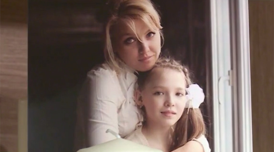 Irina Vitalyeva and her daughter Alisa were killed in the deadly A321 plane crash in the Sinai desert. © RT