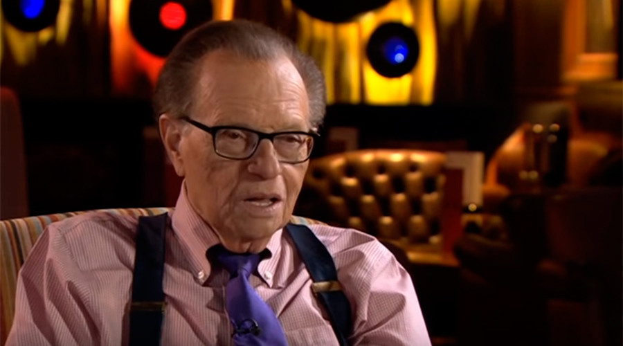 Newsnight viewers tell BBC to lay off Larry King over working with RT