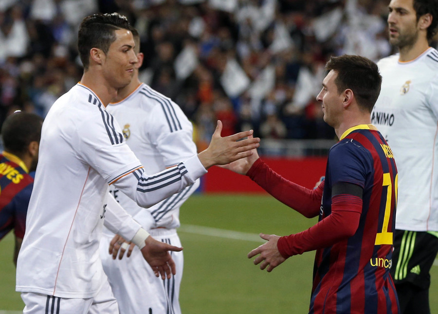 Image result for Messi and Ronaldo 'from another world'