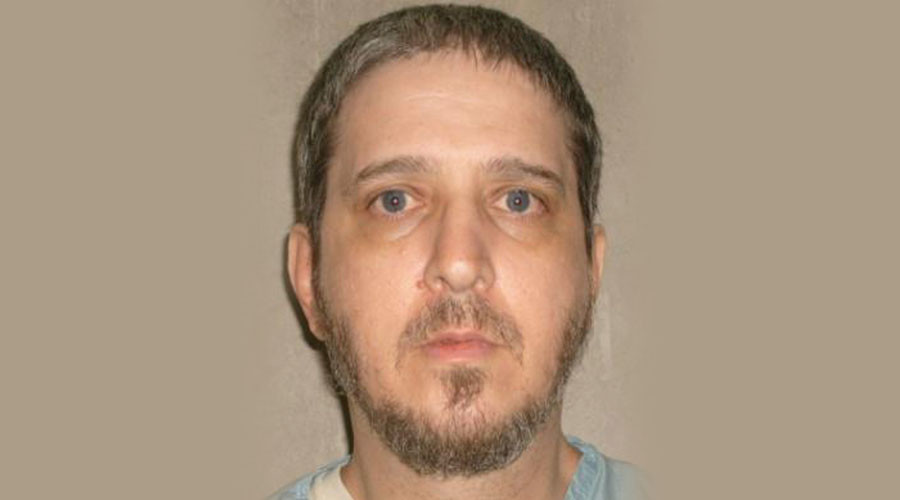 Oklahoma State Penitentiary death row inmate Richard Glossip is shown in this 2007 handout photo provided by the Oklahoma Department of Corrections. © Oklahoma Department of Corrections