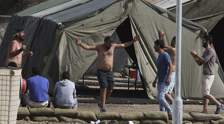'Claim asylum in Cyprus or be deported,' RAF tells stranded refugees