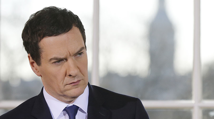 Axman cometh: Osborne defies critics with fresh round of austerity