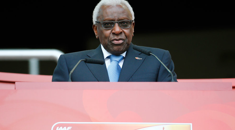 IAAF President Lamine Diack © Damir Sagolj
