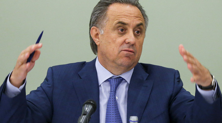 'Baseless & fictional': Russian sports minister refutes anti-doping agency's report