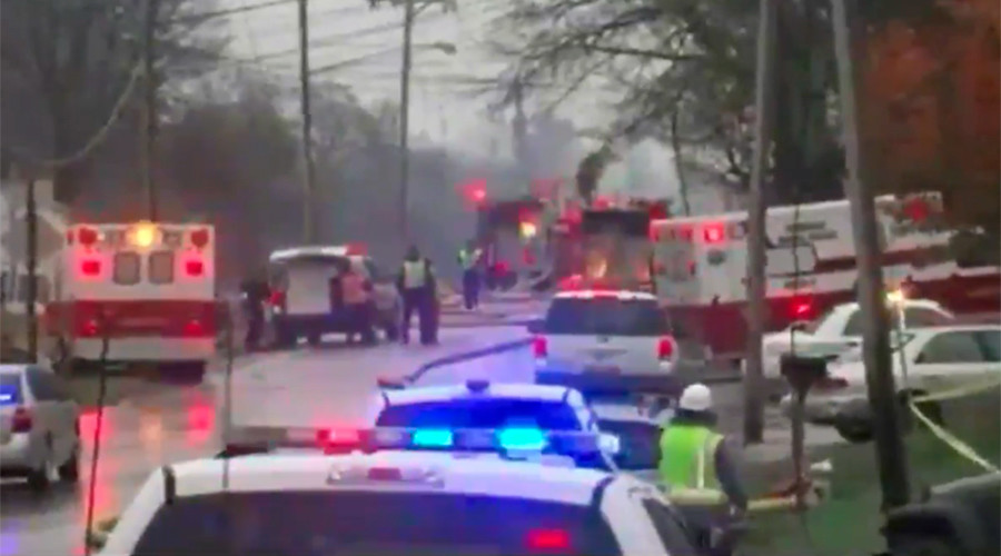 No survivors after plane crashes into Akron, Ohio apartment building - officials