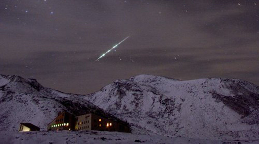 'Great meteors of fire' Taurid to light up night sky