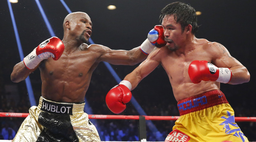 Mayweather denies Pacquiao's call for rematch