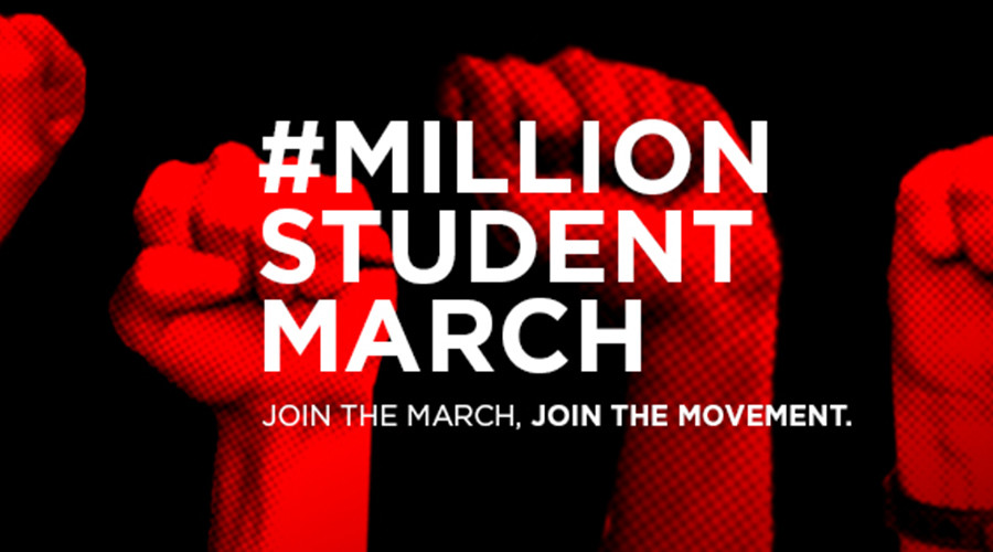 Million Student March: 100+ US campuses rally against tuition fees & student debt
