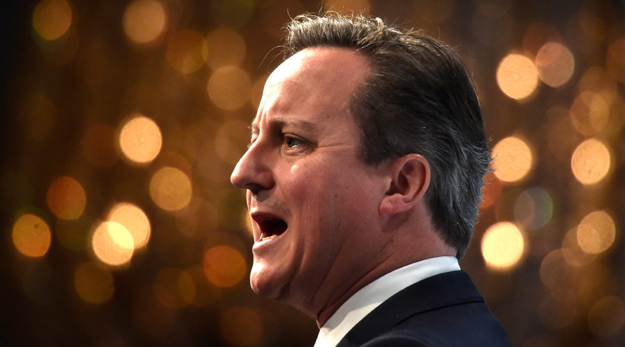 Matter of fact? Cameron cites 'questionable' migrant benefits data