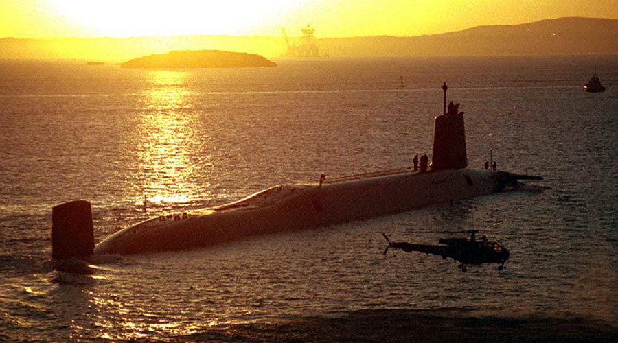 Nuclear spat: Osborne doesn't trust MoD to deliver Trident replacement on time