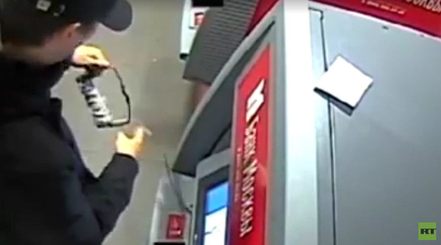 'Breaking Bad' in Russia? History teacher to face trial for... blowing up ATMs in Moscow (VIDEO)