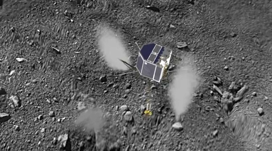 Touchdown! What landing on a comet looks like (VIDEO)