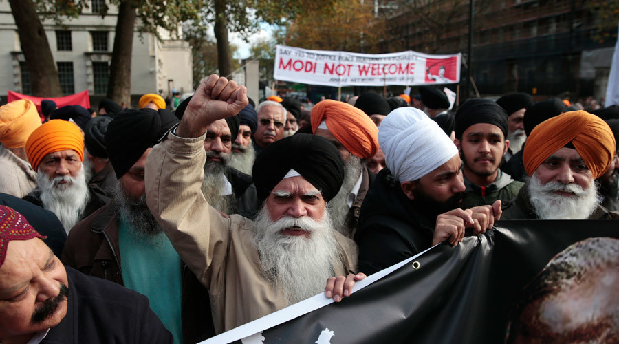 'Hindu fascism': Protesters target Modi's Wembley Stadium welcome