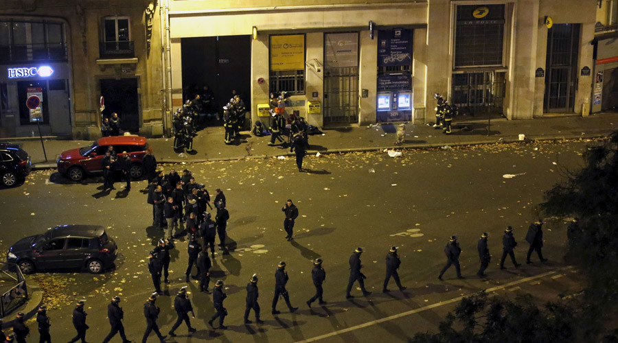 Bataclan concert hall siege leaves 100 hostages dead, 4 terrorists 'neutralized' – reports