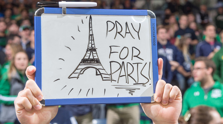 Attack 'on all of humanity': US reactions to Paris carnage, from politics to prayers