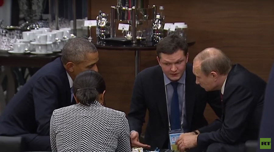 Obama, Putin talk Syria & Ukraine on sidelines of G20 summit