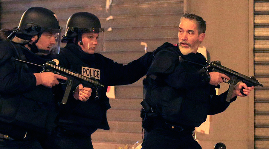 False alarm triggers panic at scene of Paris terror attack (VIDEO)