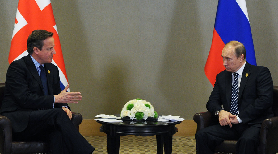 Putin, Cameron pledge to join forces to eradicate Islamic State