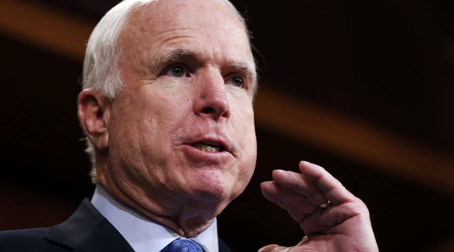 U.S. Senator John McCain. © Larry Downing