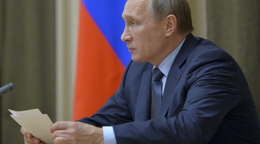 Russian President Vladimir Putin © Aleksey Druzhinin