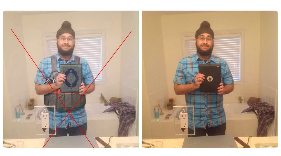 Image of Canadian Sikh man photoshopped to look like terrorist linked to Paris attacks