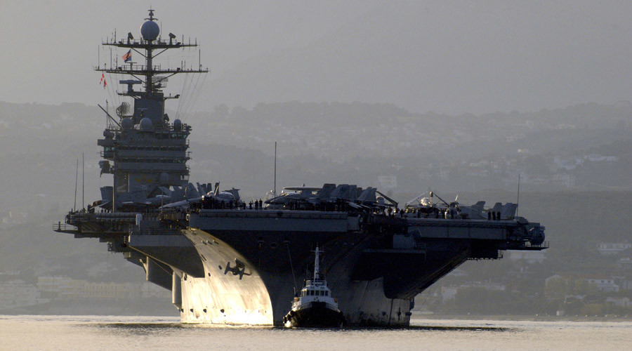 USS Harry Truman deployed to strike ISIS in wake of Paris attack