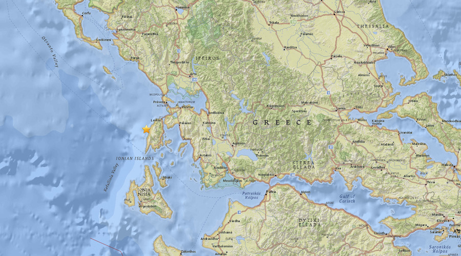 2 killed after 6.5 magnitude quake strikes Greece