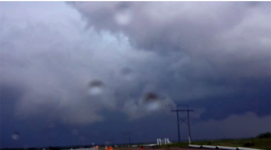 Severe storms cause damage throughout Texas, Oklahoma & Kansas