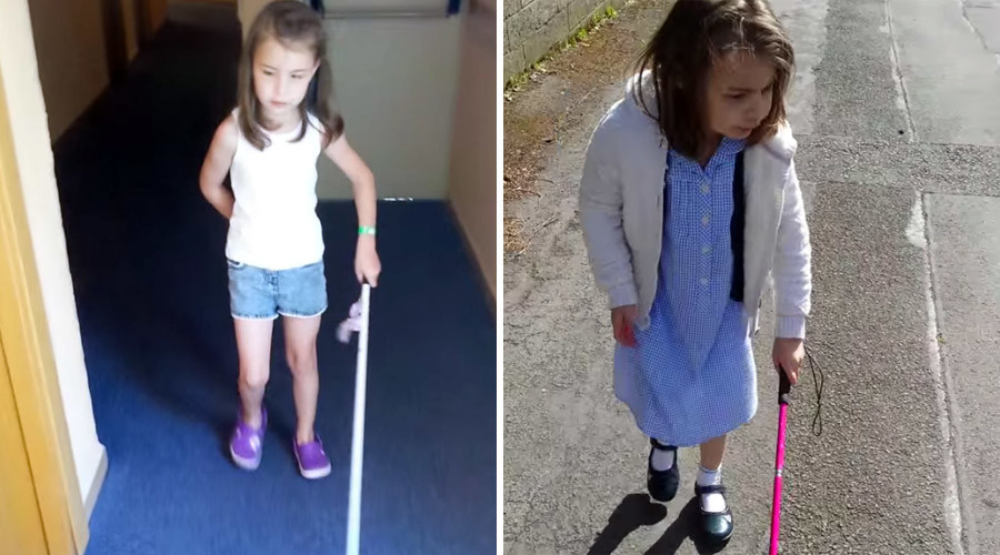 No cane do: UK school bans blind girl's walking aid
