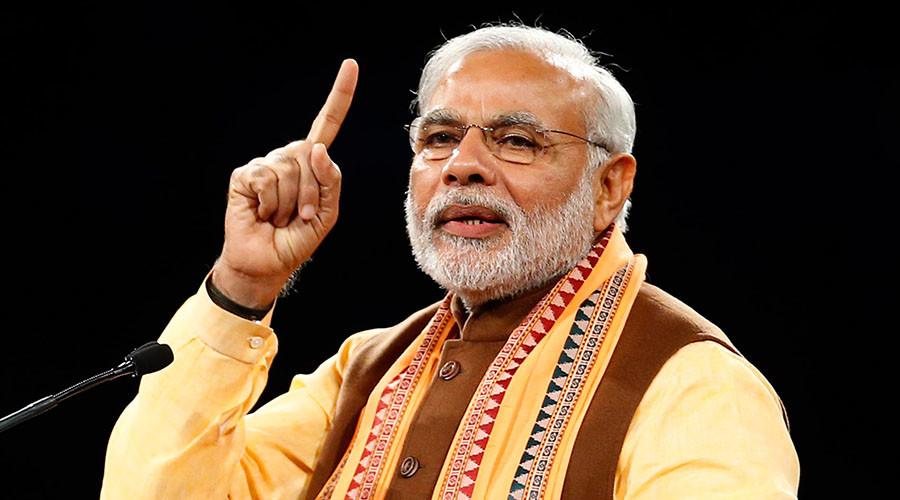 India's Prime Minister Narendra Modi. © Mark Blinch