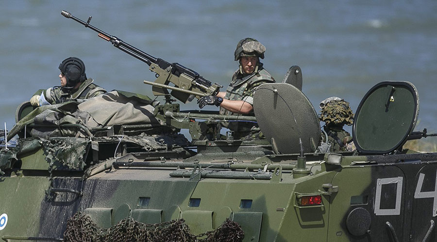 More than five thousand air, sea and ground troops take part in a multinational NATO maritime exercise BALTOPS in the Baltic Sea to demonstrate the resolve of allied and partner forces to defend the Baltic region near Ustka, Poland June 17, 2015. © Agencja Gazetai