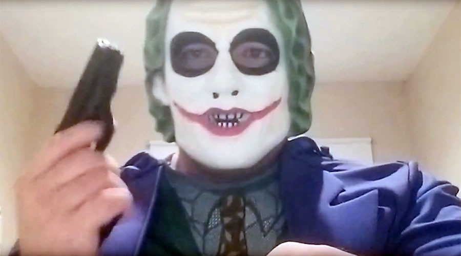 Man in Joker mask threatens to kill '1 Arab a week' in Canada, gets arrested