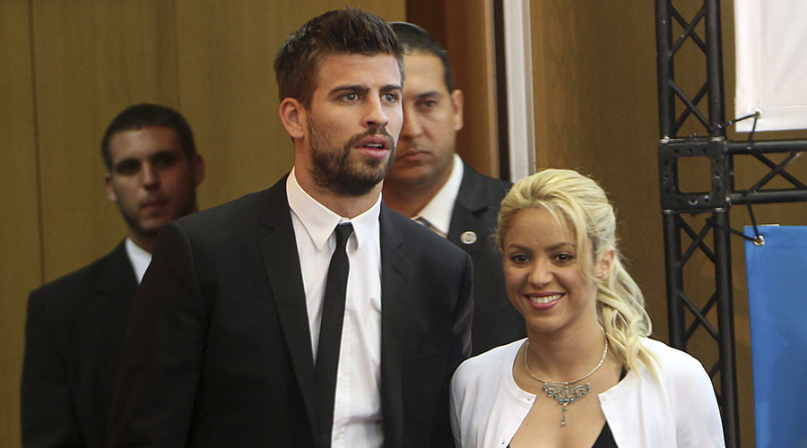 Shame in Spain: Barca's Pique and Shakira 'blackmailed' over sex tape