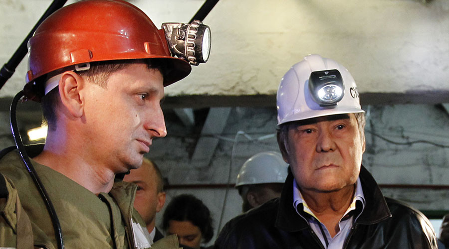 Making coal the goal: Russian official's unusual weight-loss plan