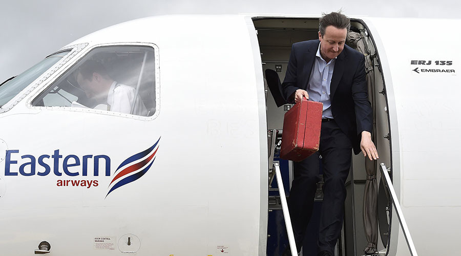 Cam Force One? British PM orders £10m ministerial jet