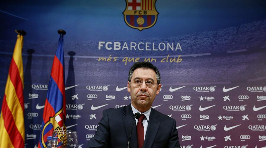 Barcelona's President Josep Maria Bartomeu ©Albert Gea