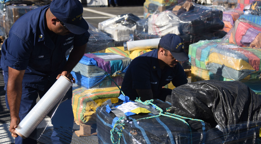 She don't lie: Coast Guard seizes 25 tons of cocaine, worth $765 million