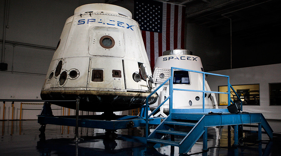 NASA orders first manned SpaceX flight to ISS