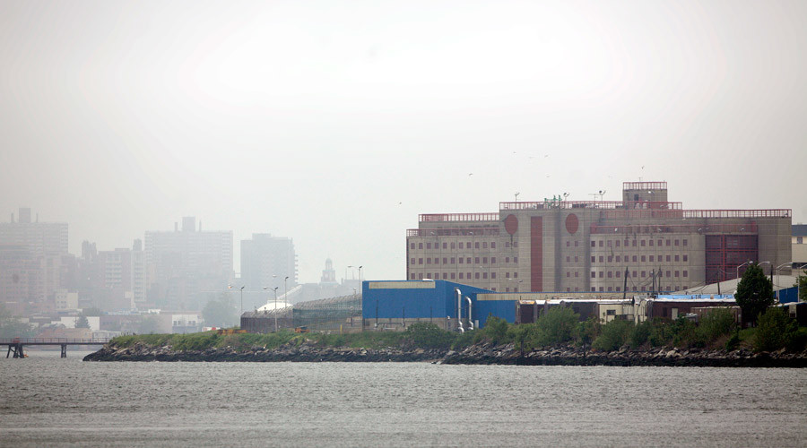 Rikers prison guard 'raped female inmate for 20 mins while 2nd guard watched' – lawsuit