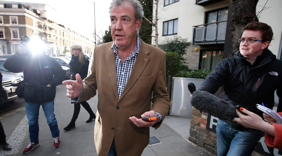 Turn the other cheek? Punch-throwing Jeremy Clarkson says 'Don't bomb ISIS'