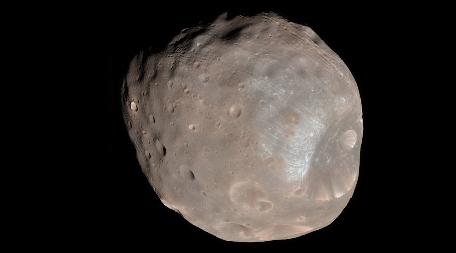 Phobos. © NASA / JPL-Caltech / University of Arizona