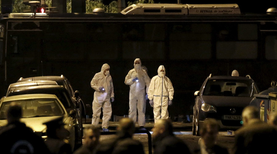 Bomb explodes in central Athens outside business federation HQ