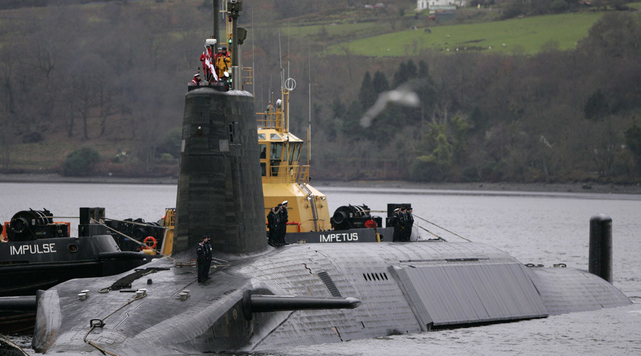 Trident nukes could be moved from Scotland to N. Ireland, DUP MP says