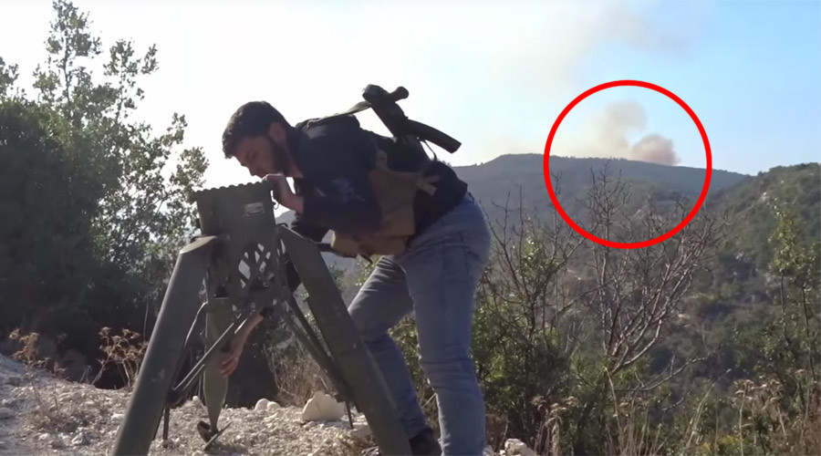 FSA video claims Russian-made helicopter hit with US-made TOW missile near Su-24 crash site