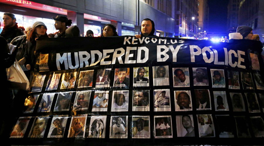 'They left him dead': Protests erupt after video shows cop shooting black teen 16 times
